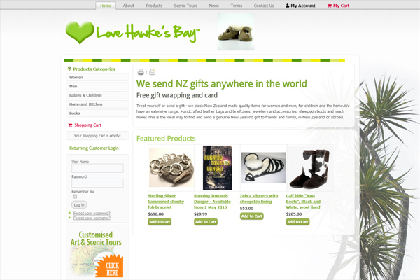 Love Hawke's Bay Online Gift Shop