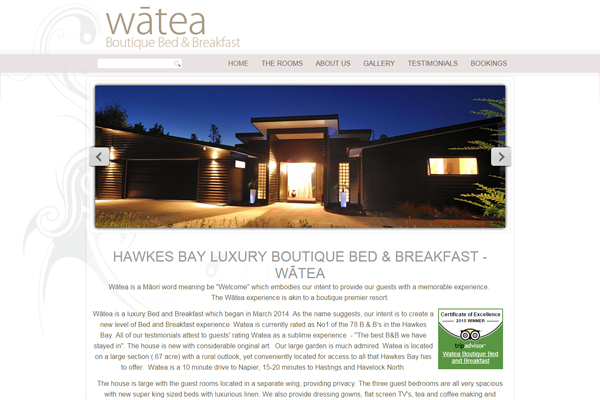 Watea Boutique Bed and Breakfast